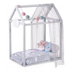 Drewniany łóżko dla lalek Martín De Cuevas Toys 54929