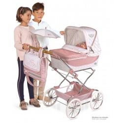 Składany wózek dla lalek Reborn Classic Romantic De Cuevas Toys 82038 | De Cuevas Toys