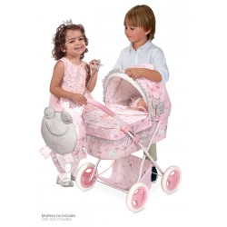 Składany wózek dla lalek Maria De Cuevas Toys 85034 | De Cuevas Toys