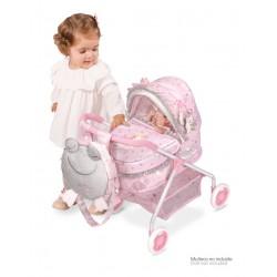 Wózek dla lalek Mój pierwszy wózek María De Cuevas Toys 86034 | De Cuevas Toys