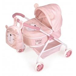 Wózek dla lalek zwierząt Little Pet De Cuevas Toys 86039