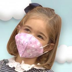 Magiczna maska higieniczna dla dzieci María De Cuevas Toys do ponownego użytku