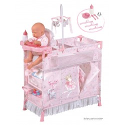 Składana szafka do przewijania lalek María De Cuevas Toys 53034