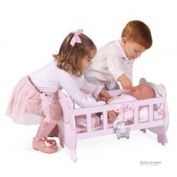 Drewniane kołyskowe lalki María DeCuevas Toys 55134