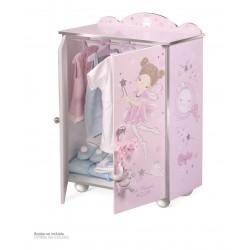 Drewniana szafa dla lalek Maria DeCuevas Toys 55234