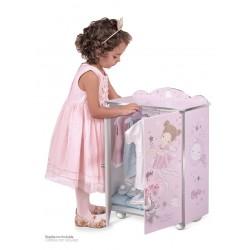 Drewniana szafa dla lalek Maria DeCuevas Toys 55234 | DeCuevas Toys