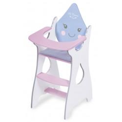 Drewniane krzesełko dla lalek Martín DeCuevas Toys 55429