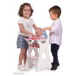 Drewniane krzesełko dla lalek Martín DeCuevas Toys 55429 | DeCuevas Toys