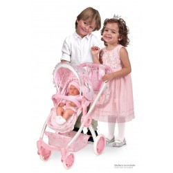 Wózek składany Maria 3x1 DeCuevas Toys 80534