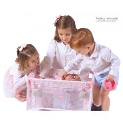 Łóżeczko dla lalek María DeCuevas Toys 50034 | DeCuevas Toys