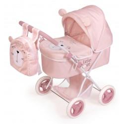 Składany wózek dla lalek Little Pet DeCuevas Toys 85039