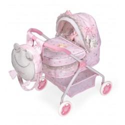 Wózek dla lalek Mój pierwszy wózek María DeCuevas Toys 86034