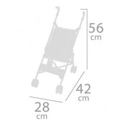 Składany wózek dla lalek Silla DeCuevas Toys 90096 | DeCuevas Toys