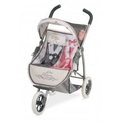 Wózek dla lalek składany podwójnie Reborn DeCuevas Toys 90331