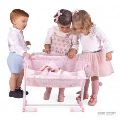 Kołyska dla lalek Regulowana Sleep With Me María DeCuevas Toys 51234 | DeCuevas Toys