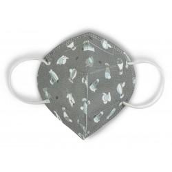 Higieniczna maska wielokrotnego użytku dla dzieci DeCuevas Toys Sky 105.10002