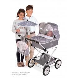 Składany wózek dla lalek Reborn Classic Romantic DeCuevas Toys 82035 | DeCuevas Toys