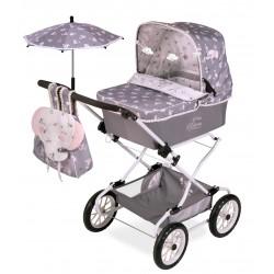 Składany wózek dla lalek Reborn Classic Romantic DeCuevas Toys 82035