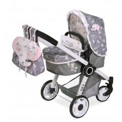Składany wózek dla lalek Sky 3x1 DeCuevas Toys 80535