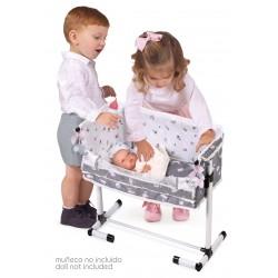 Kołyska dla lalek Regulowana Sleep With Me María DeCuevas Toys 51235 | DeCuevas Toys