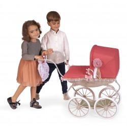 Wózek dla lalek w stylu klasycznym Martina Decuevas 87033 | DeCuevas Toys