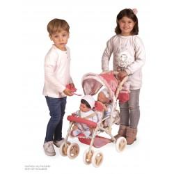 Składane krzesło bliźniacze dla lalek Martina DeCuevas Toys 90333
