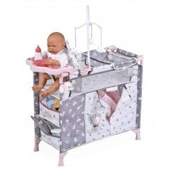 Składana szafka do przewijania lalek María DeCuevas Toys 53035