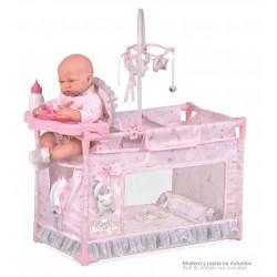 Łóżeczko zmieniacz lalek Martín DeCuevas Toys 53134
