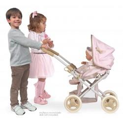 Składany samochód dla lalek 3x1 i krzesełko dla lalek Didí DeCuevas Toys 85143   DeCuevas Toys