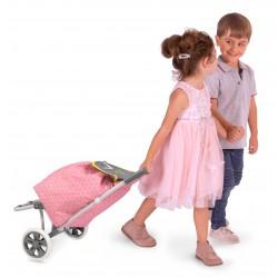 Składany dziecięcy wózek na zakupy Surt. DeCuevas Toys 52089   DeCuevas Toys